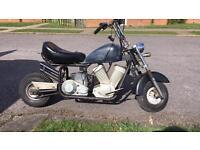 Two midi moto 50cc bikes. Spares
