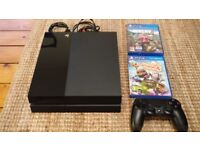 Playstation 4 500 GB with controller & Far Cry 4, Little Big Planet 3