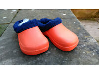 NEW Fleece-lined Clogs Size 37