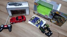 Two Remote controlled cars. Opened but never used
