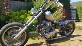 Yamaha XS650 Old School Bobber / Chopper