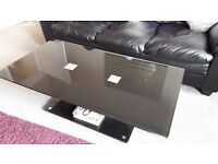 Large black coffee table. Heavy. FREE