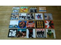 19 x 7 inch - inxs vinyl collection don't change / the one thing / strangest party / double pack /