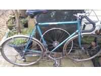 Mens motobecane classic 1979 racer bicycle. (spares or repairs)