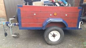 Small Trailer. Excellent condition. Comes with a spare tyre also. Ideal