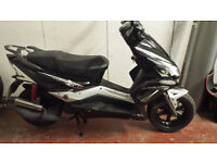 50cc scooter 2013 full mot