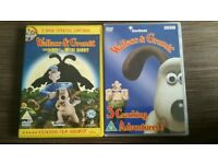 Wallace and Gromit DVDs