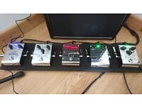 5 x Biyang effects pedals