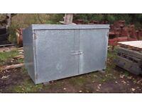 all weather garden caravan storage box