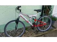 Mens Mountain Bike full suspension alloy frame
