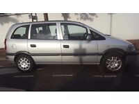 Car for Sale ! Cheap !!! Good Condition ! Silver Vauxhall Zafira 7 Seater £800