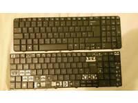two faulty laptop keyboard