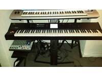 Keyboard piano Korg m50 88keys waighted, (not yamaha,roland)