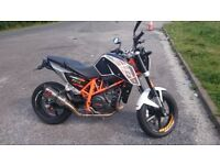 KTM Duke 690 63 Reg Clean tidy bike