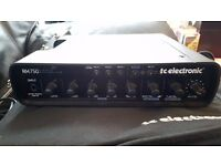 TC Electronic RH750 Bass Head + RC4 Footswitch + bag