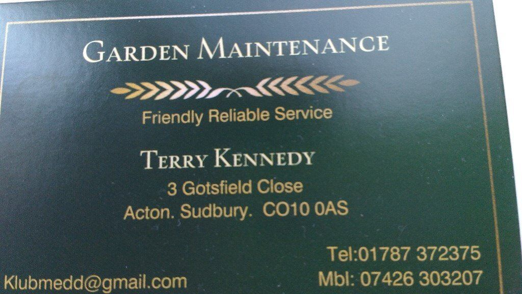 Garden Maintenance/Key holding
