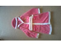 girls sleeping beauty dressing gown