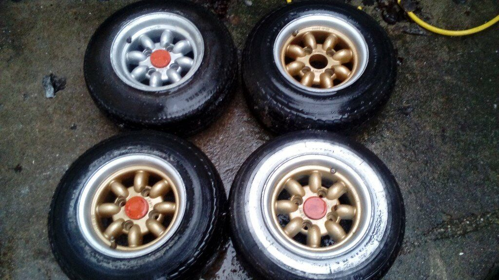 Classic Mini 10 Inch Mini Lite Wheels In Bootle