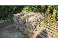 600 used brown concrete plain roof tiles