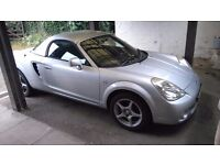 Toyota MR2 2005 1.8vvti, manual, with matching hard top, recent full mechanical overhaul