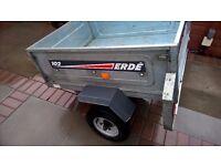 Erde 102 metal car trailer 4x3