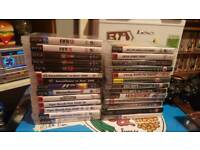 Ps3 80gb with 28 games 5 controllers