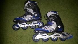 Airwalk roller blades size 8