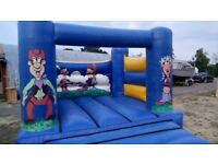 12 ft x 12 ft bouncy castle, ideal for someones garden.