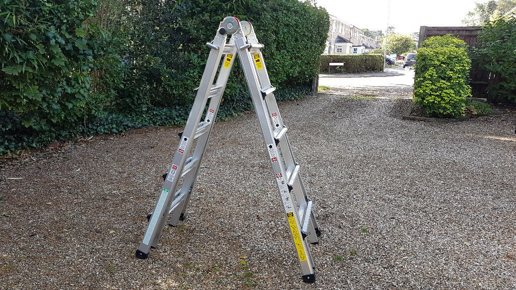 Vulcan 21 foot multi-use telescopic ladder
