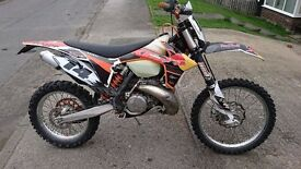 KTM XC EXC 250 300 Enduro PX and delivery possible