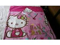 Hello Kitty double duvet cover with 2 pillow cases