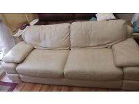 leelonglands 3 Seater Sofa hardly used.