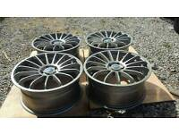"Ford RS Style 18"" Alloys 5x108 Mondeo Focus"