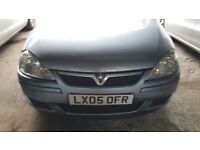 Vauxhall Corsa 2005 breaking and selling for parts