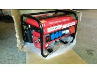 3 Phase and Single Phase, Gasoline Generator, Ek 8500W 6.5HP 220V / 380V New