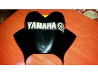 Yamaha fly screen bolts to standard headlight bolts