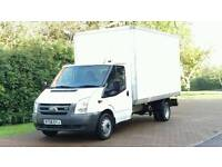 FORD TRANSIT LUTON 2008 -NO VAT- 6 SPEED ONLY 98K FSH MERCEDES SPRINTER IVECO DAILY