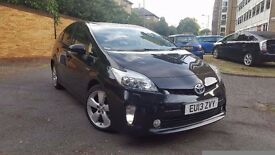 TOYOTA PRIUS T SPIRIT ONE OWNER FULL SERVICE HISTORY CAMERA HALF LEATHER NAVIGATION BLUTOOTH USB