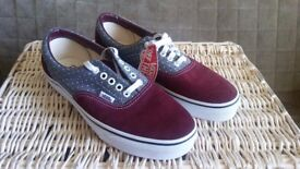 Vans Mens Womens Low Canvas Brand NEW