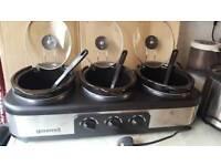 Gourmet sensiohome 3in1 slow cooker