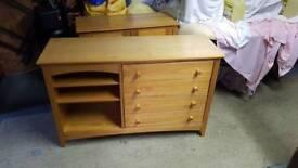 Side unit sold wood
