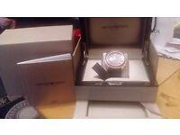 stunning mens armani watch new in jewlery box presentation box model AR1535