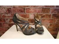 Ladies Glittery Heels - New Look