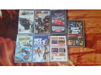 PSP GAMES / FILMS / £3 -£4 EACH OR THE LOT FOR £20 QUID CASH
