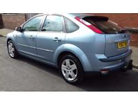 """FORD FOCUS 1.8 STYLE 5 DOOR BLUE 2007 """"immaculate condition"""""""