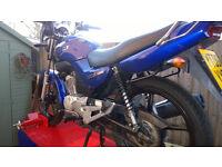 YAMAHA 125 YBR 09reg major service done,clean bike runs well !!!!!