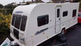 2010 Bailey Pegausus 524 4 berth fixed bed Caravan - Exeter