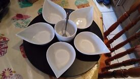 Serving dish/dips/starters (brand new in box)