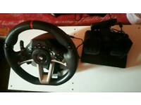 HORI Racing Wheel set for XBOX ONE