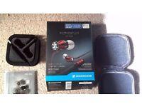 Sennheiser Momentum M2 IEG in-ear headphones (used, but as new)
